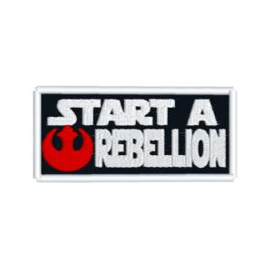 start a rebellion